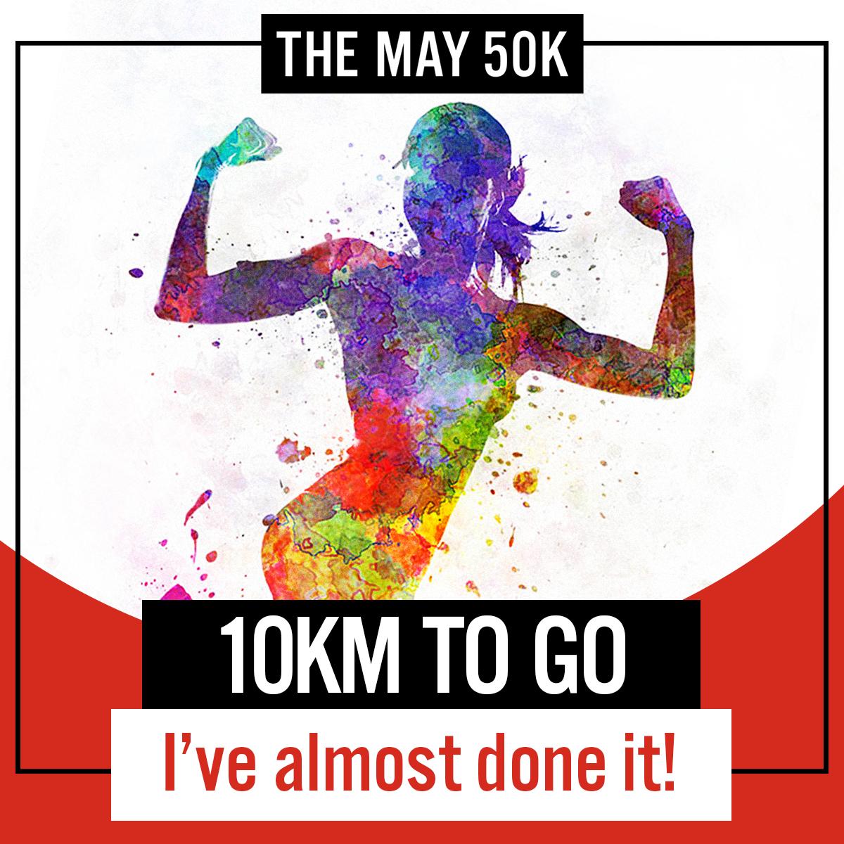 10km to Go