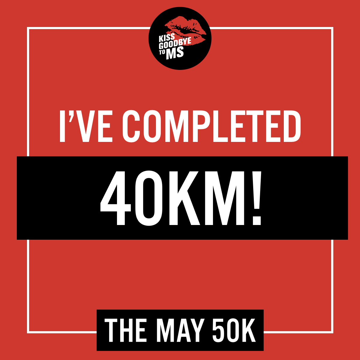 Social Post - 40km