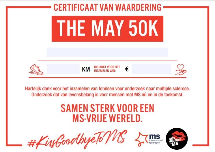 Certificate of Appreciation - NL