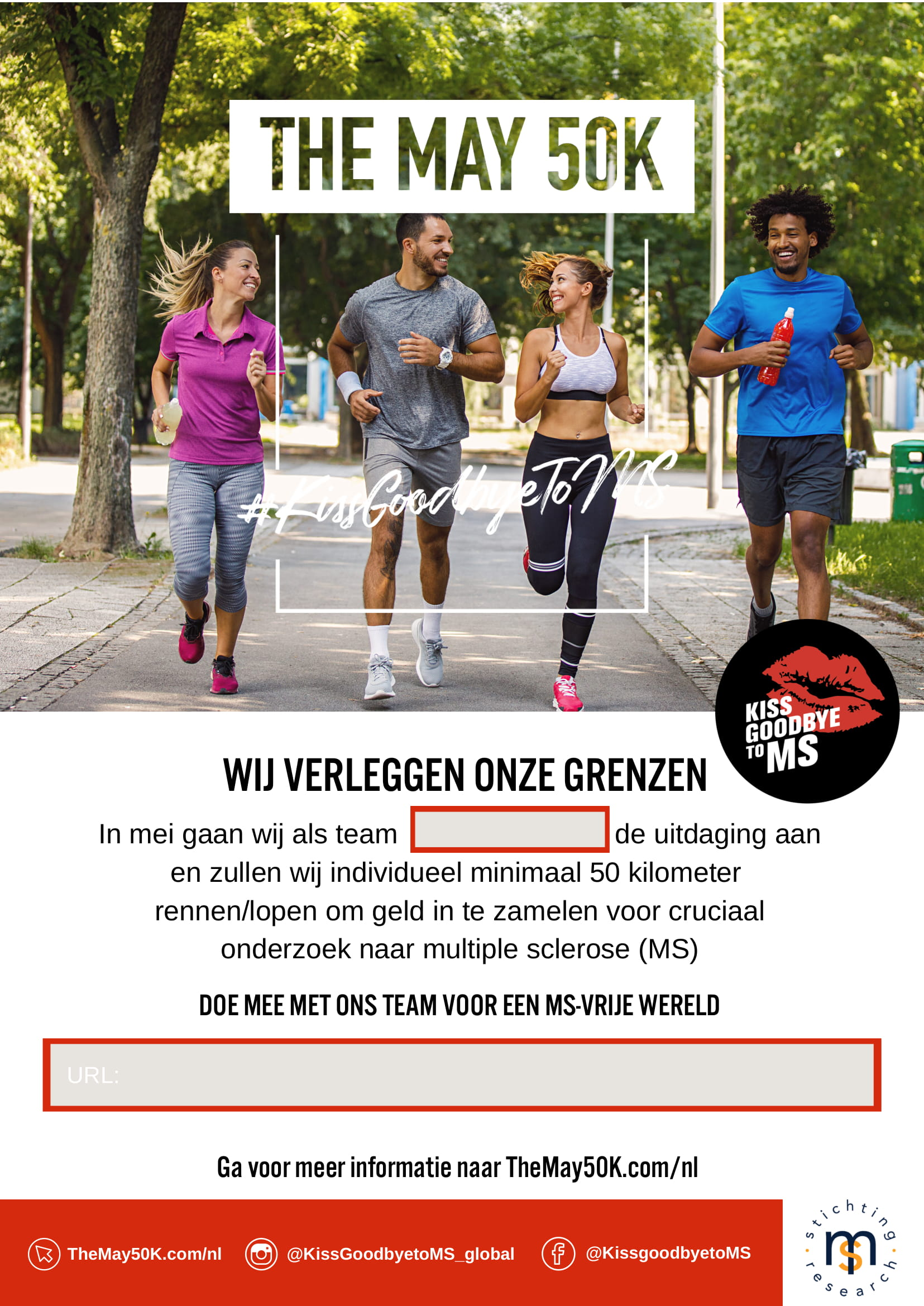 Netherlands Poster A4 Team- Doe Mee