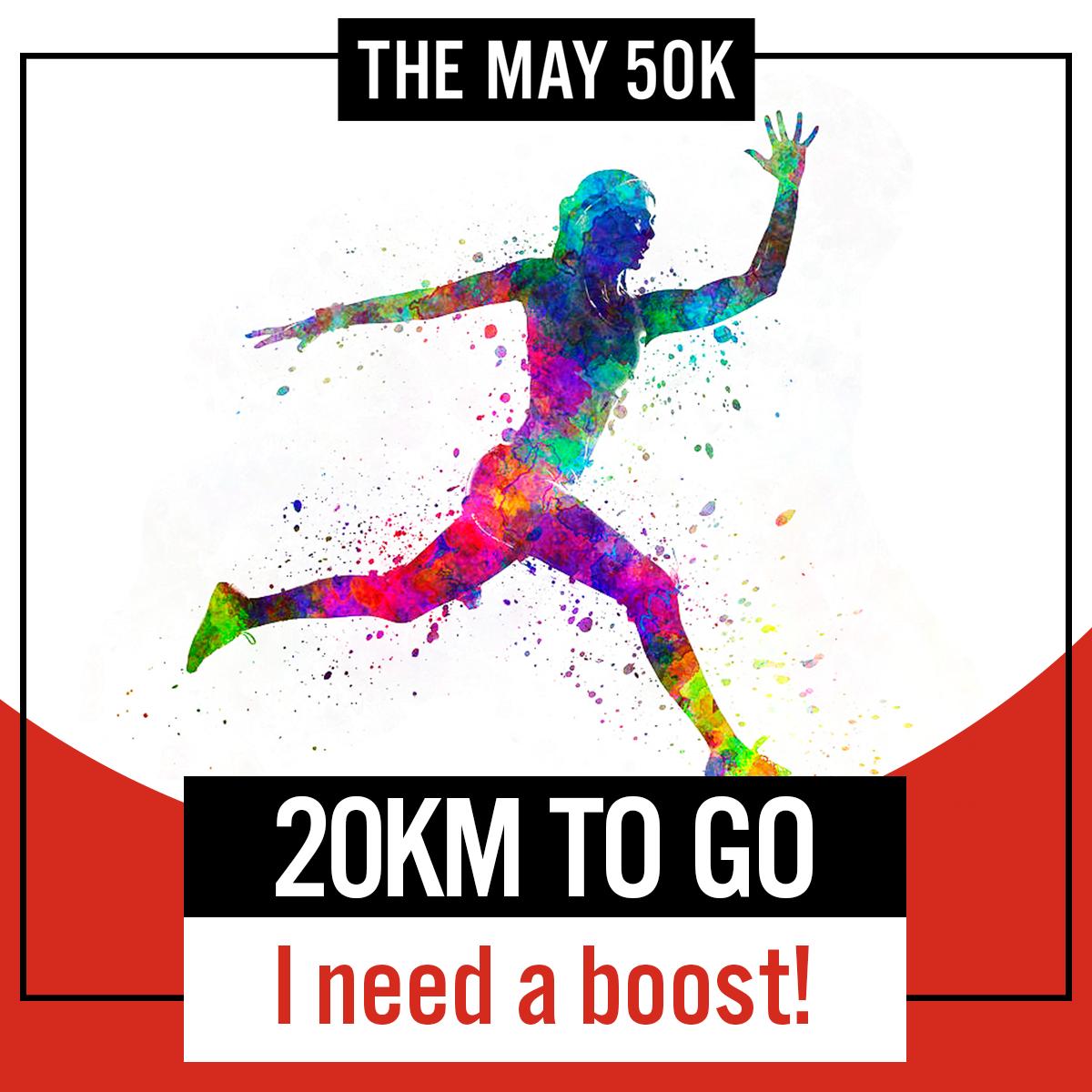 20km to Go