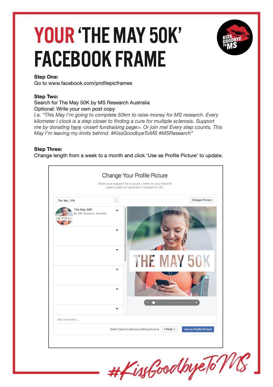 Facebook Frame Guide